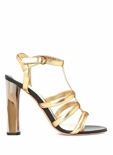 Alexander McQueen Sandalet Altın